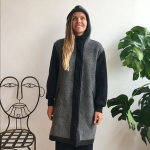 Gorgeous wool Isabel marant étoile jacket w/ hood